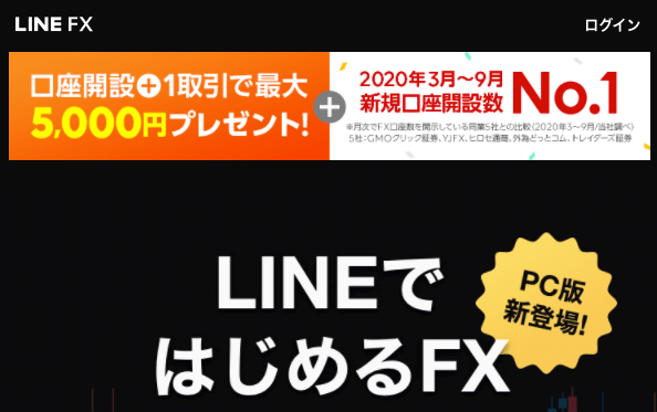 FXおすすめ_LINEFX