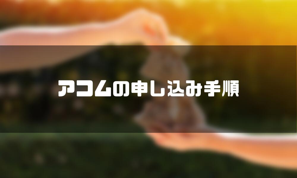 アコム_審査_手順
