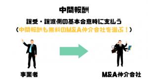 M&A仲介会社_比較_中間報酬