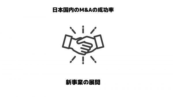 M&A_成功率_新規事業展開