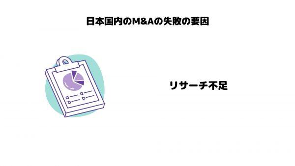 M&A_失敗要因_リサーチ不足
