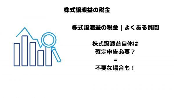 株式譲渡益_税金_よくある疑問_確定申告