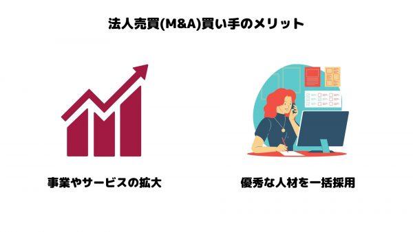 法人売買_M&A_買い手のメリット