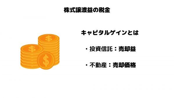 株式譲渡益_税金_キャピタルゲイン
