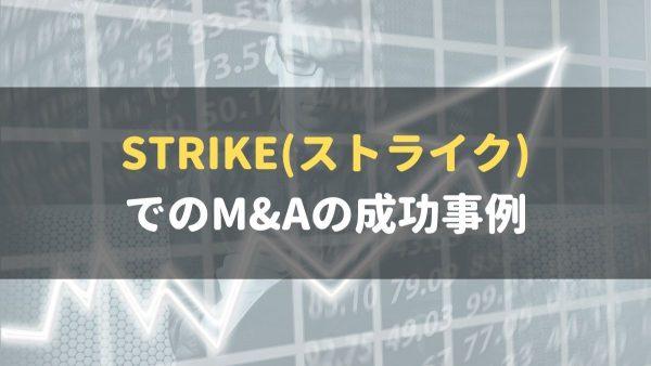 STRIKE_評判_M&A_成功事例