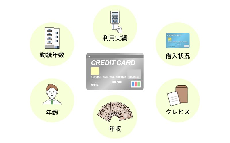 クレジットカードの審査で見られるポイント