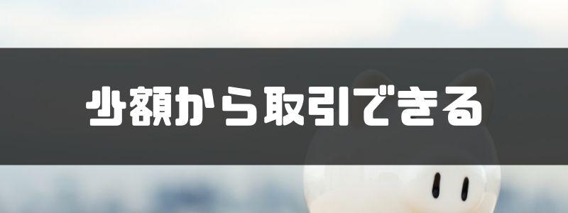 ヒロセ通商_少額
