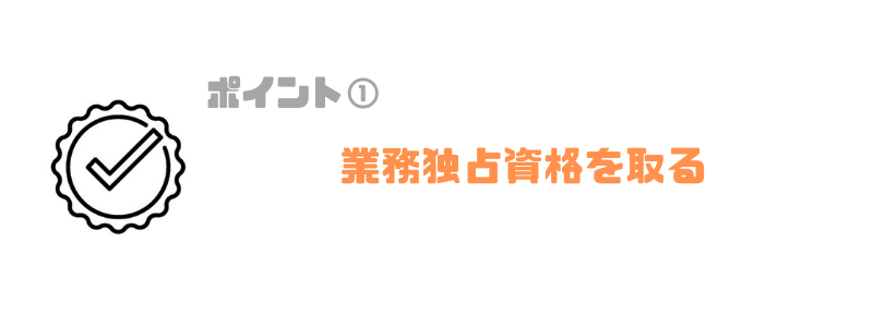 年収ランキング_業務独占資格